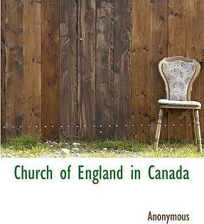 Church of England in Canada