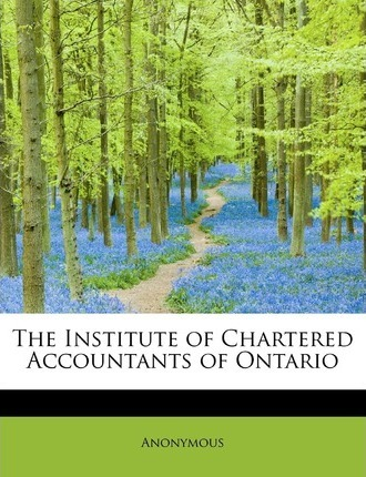 The Institute of Chartered Accountants of Ontario