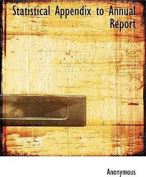 Statistical Appendix to Annual Report