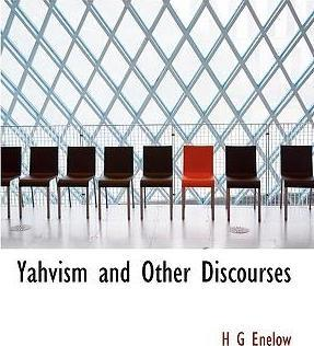 Yahvism and Other Discourses