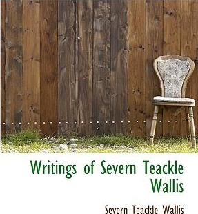 Writings of Severn Teackle Wallis