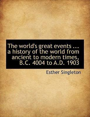 The World's Great Events ... a History of the World from Ancient to Modern Times, B.C. 4004 to A.D. 1903