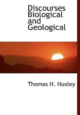 Discourses Biological and Geological
