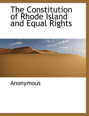 The Constitution of Rhode Island and Equal Rights