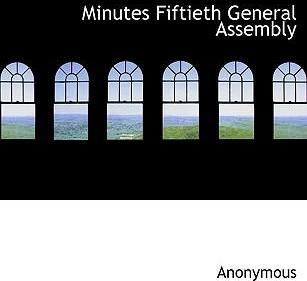 Minutes Fiftieth General Assembly
