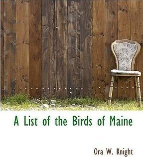 A List of the Birds of Maine