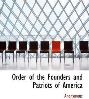 Order of the Founders and Patriots of America