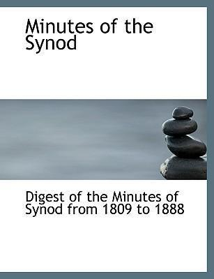 Minutes of the Synod