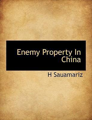 Enemy Property in China