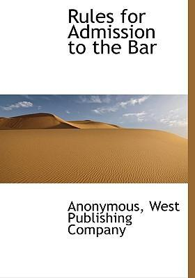 Rules for Admission to the Bar