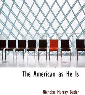 The American as He Is