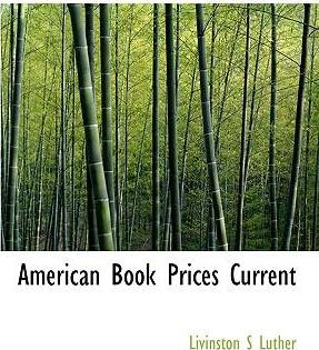 American Book Prices Current