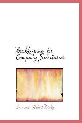 Bookkeeping for Company Secretaries