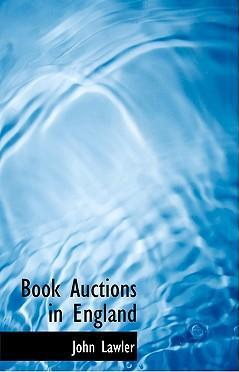 Book Auctions in England