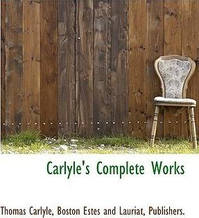Carlyle's Complete Works