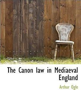 The Canon Law in Mediaeval England
