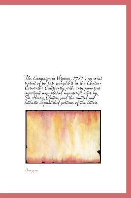 The Campaign in Virginia, 1781
