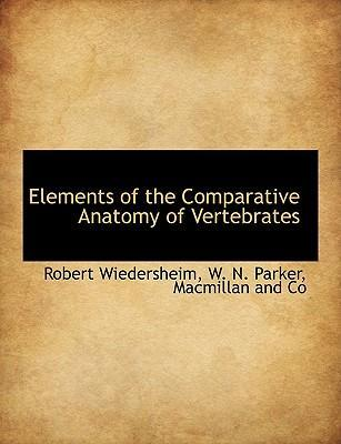 Elements of the Comparative Anatomy of Vertebrates