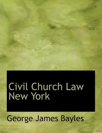 Civil Church Law New York