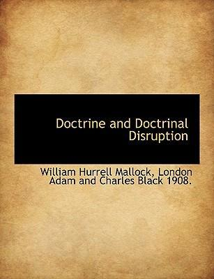 Doctrine and Doctrinal Disruption
