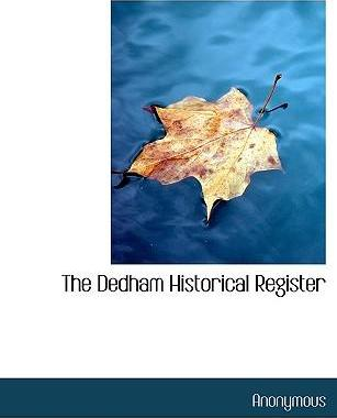 The Dedham Historical Register