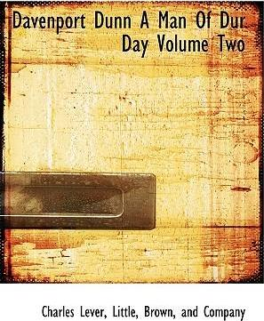Davenport Dunn a Man of Dur Day Volume Two