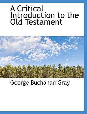 A Critical Introduction to the Old Testament