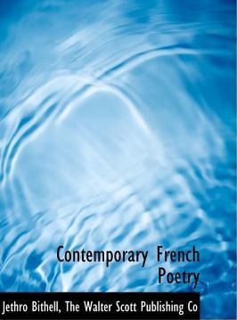 Contemporary French Poetry