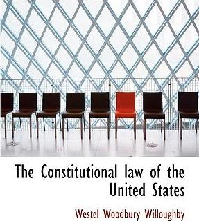 The Constitutional Law of the United States
