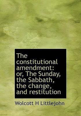 The Constitutional Amendment