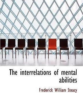 The Interrelations of Mental Abilities