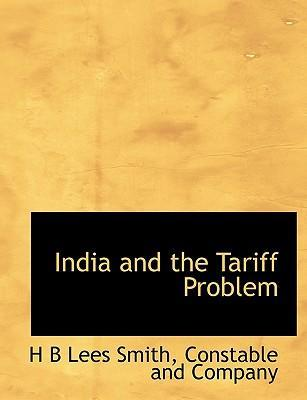 India and the Tariff Problem