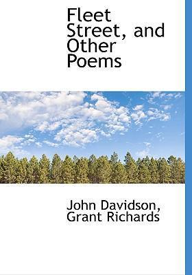Fleet Street, and Other Poems