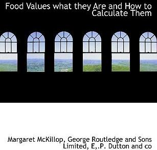Food Values What They Are and How to Calculate Them