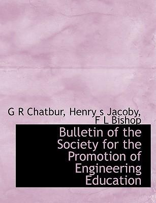 Bulletin of the Society for the Promotion of Engineering Education