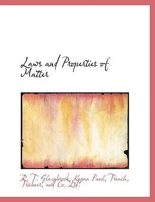 Laws and Properties of Matter