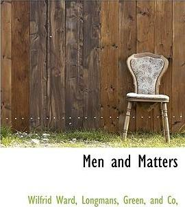 Men and Matters