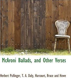 McAroni Ballads, and Other Verses