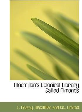 MacMillan's Colonical Library Salted Almonds