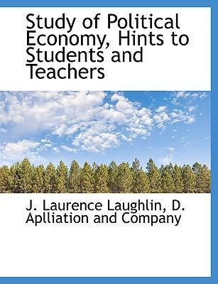 Study of Political Economy, Hints to Students and Teachers