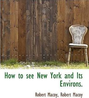 How to See New York and Its Environs.