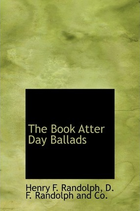 The Book Atter Day Ballads