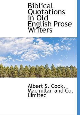 Biblical Quotations in Old English Prose Writers
