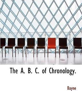 The A. B. C. of Chronology.