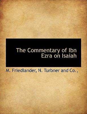 The Commentary of Ibn Ezra on Isaiah