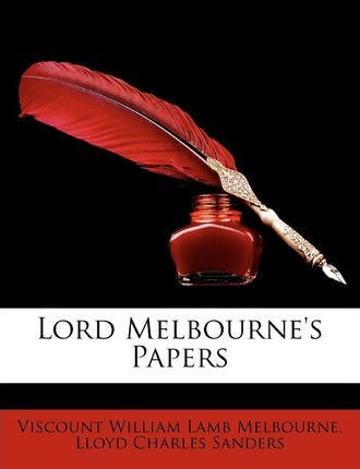 Lord Melbourne's Papers