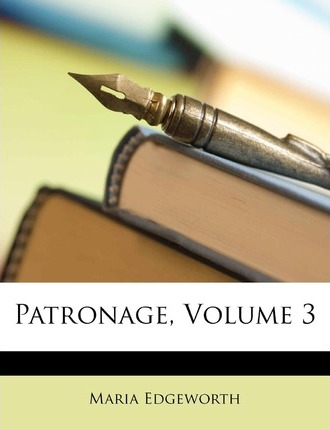 Patronage, Volume 3 Cover Image