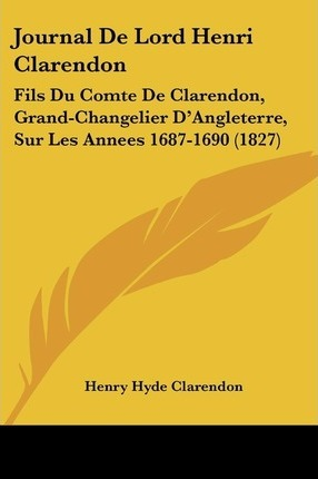 Journal de Lord Henri Clarendon