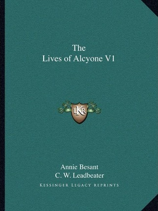 The Lives of Alcyone V1