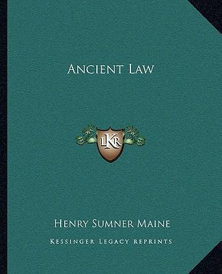 Ancient Law Ancient Law